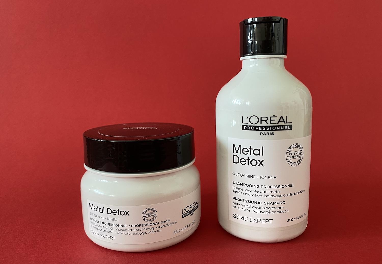 Лінійка для волосся Metal Detox